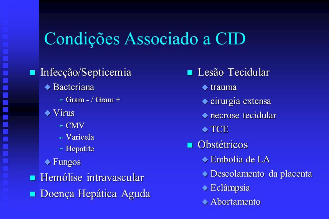 Condições Associado a CID