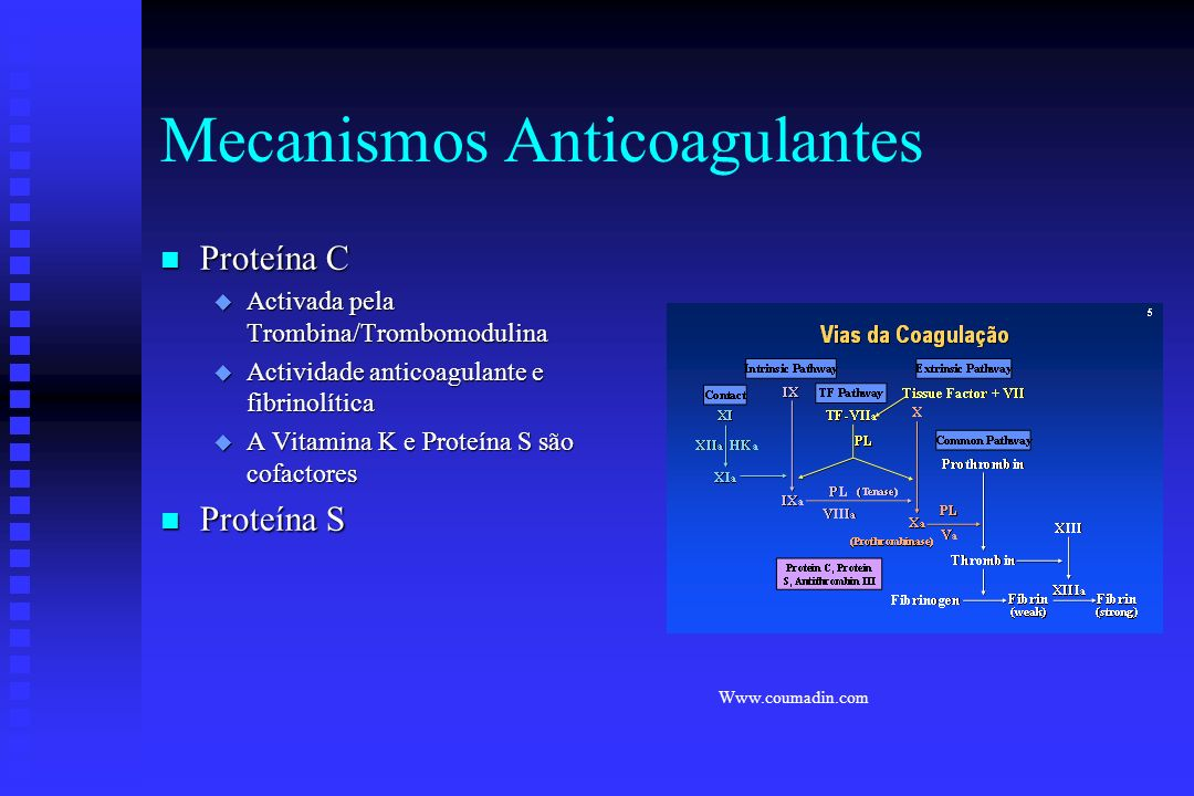 Mecanismos Anticoagulantes