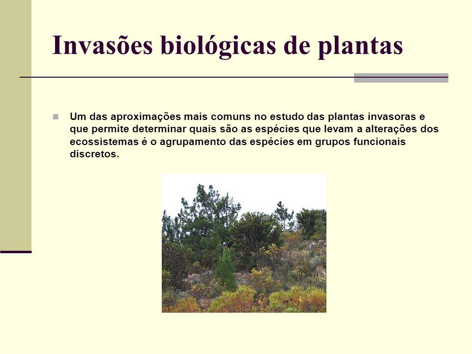 Invasões biológicas de plantas