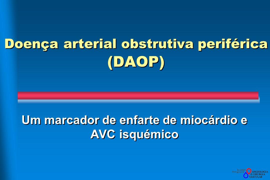 Doença arterial obstrutiva periférica (DAOP)