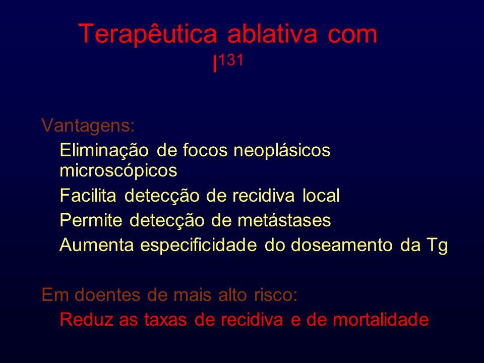 Terapêutica ablativa com I131