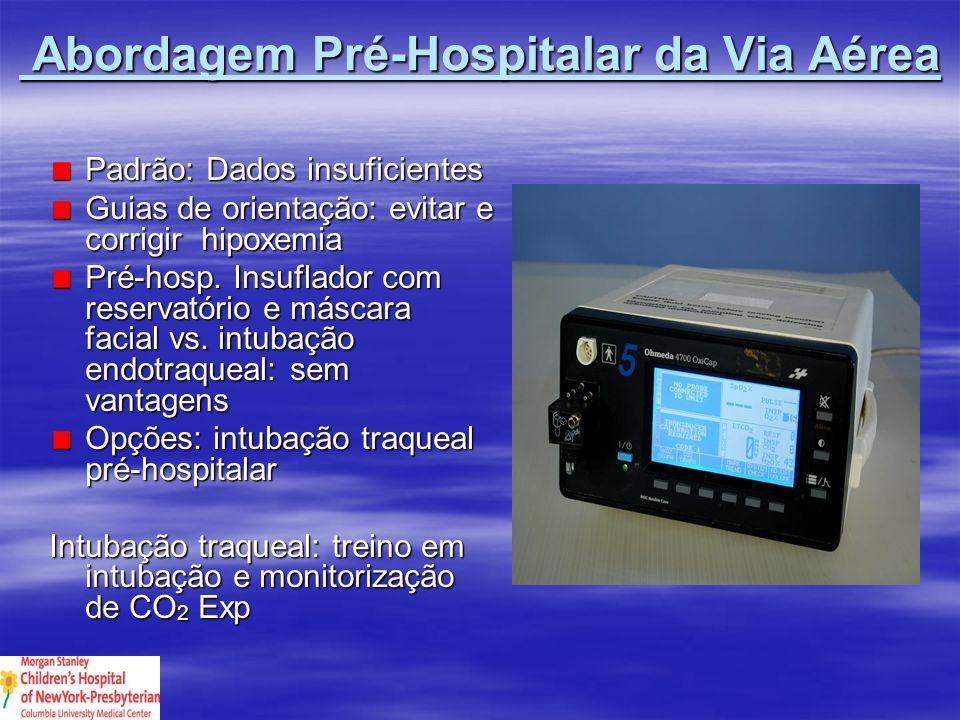 Abordagem Pré-Hospitalar da Via Aérea