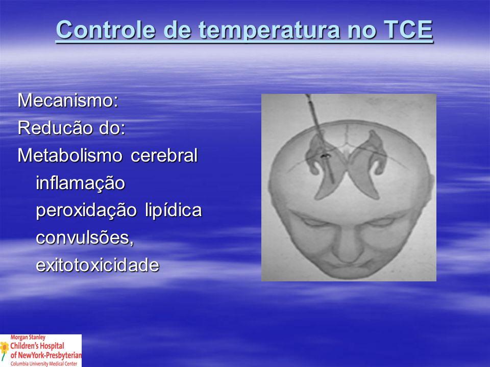 Controle de temperatura no TCE
