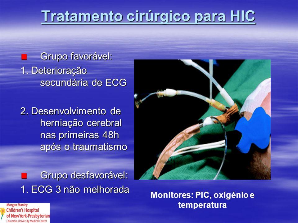 Tratamento cirúrgico para HIC