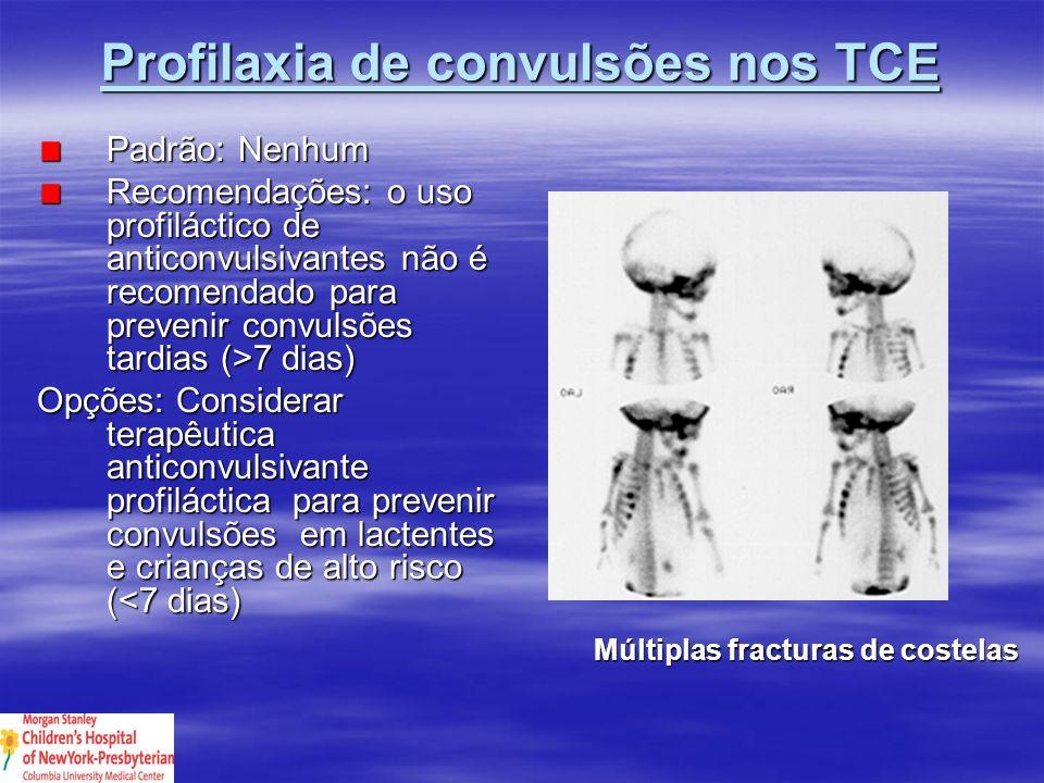Profilaxia de convulsões nos TCE
