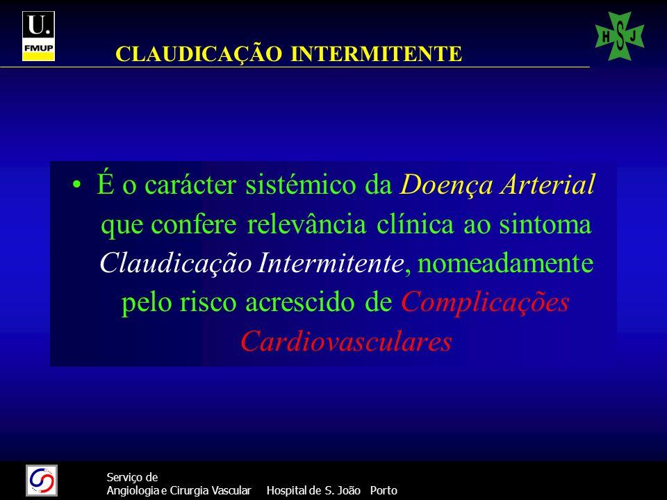 CLAUDICAÇÃO INTERMITENTE