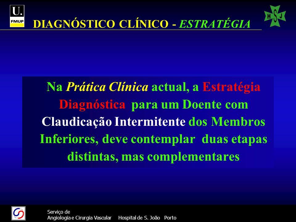 DIAGNÓSTICO CLÍNICO - ESTRATÉGIA