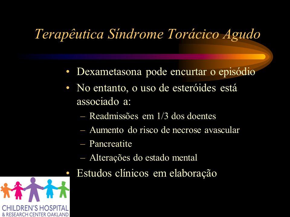 Terapêutica Síndrome Torácico Agudo
