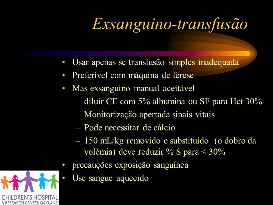 Exsanguino-transfusão