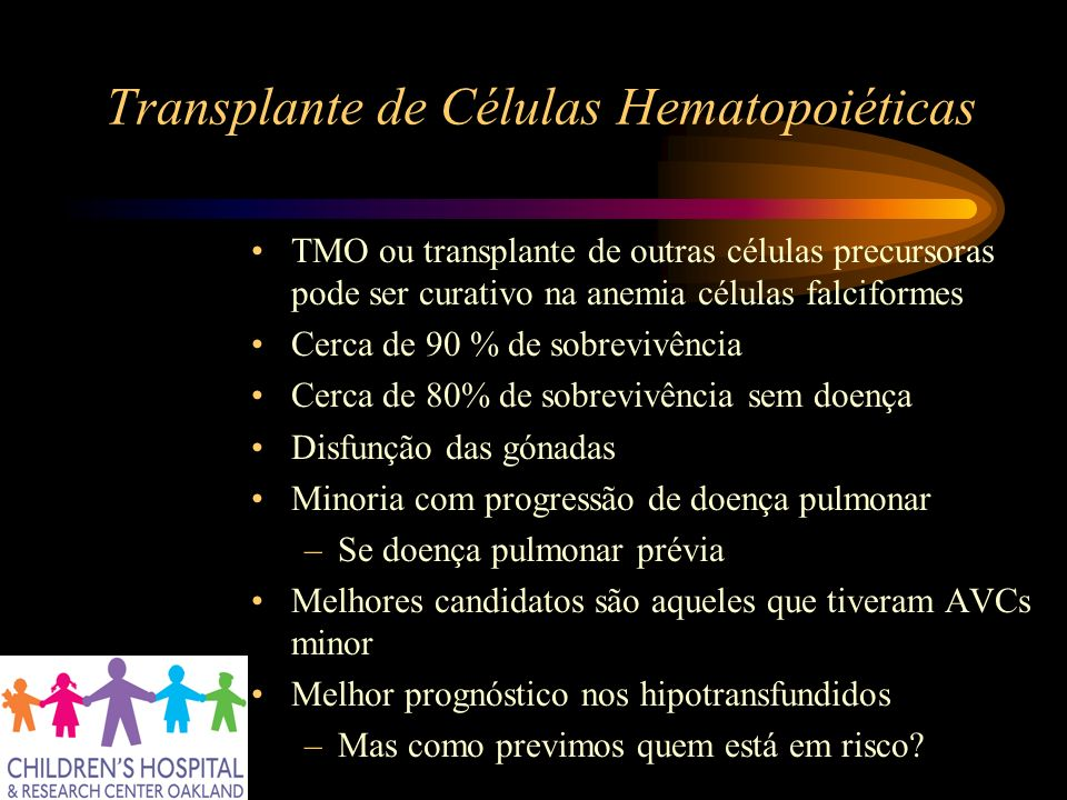 Transplante de Células Hematopoiéticas