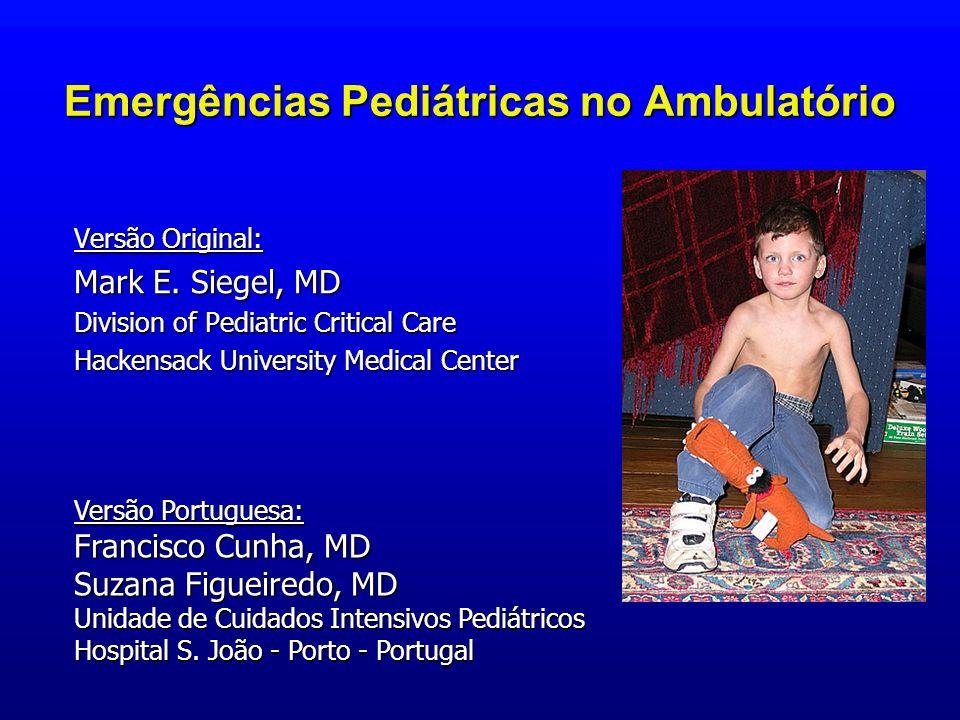 Emergências Pediátricas no Ambulatório