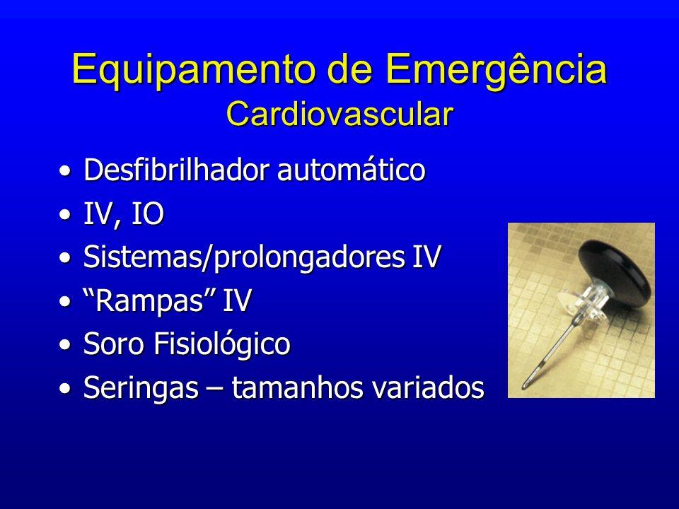 Equipamento de Emergência Cardiovascular