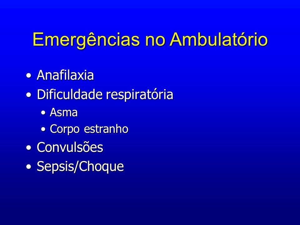 Emergências no Ambulatório