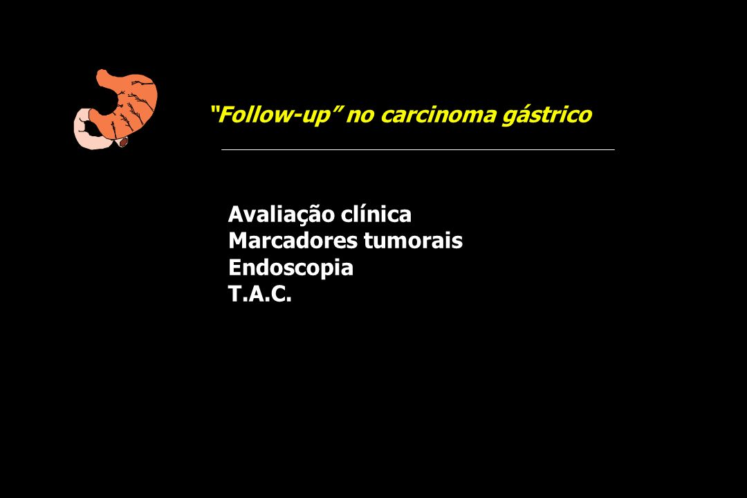 Follow-up no carcinoma gástrico