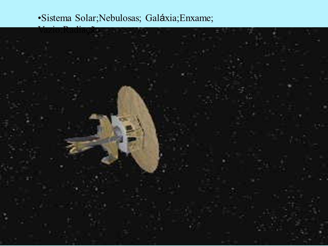 Sistema Solar;Nebulosas; Galáxia;Enxame; Vazio;Radiação