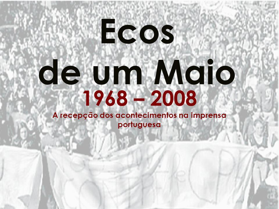 A recepção dos acontecimentos na imprensa portuguesa