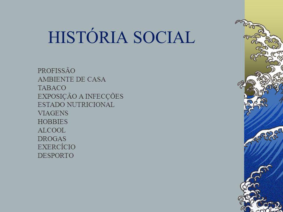 HISTÓRIA SOCIAL PROFISSÃO AMBIENTE DE CASA TABACO