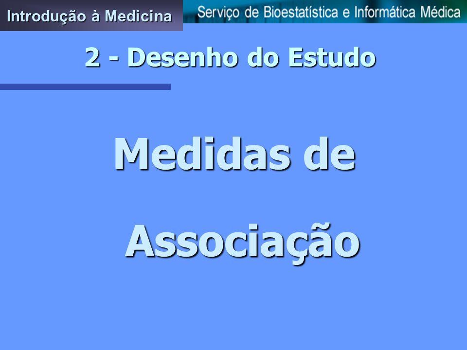 Introdução à Medicina 2 - Desenho do Estudo Medidas de Associação