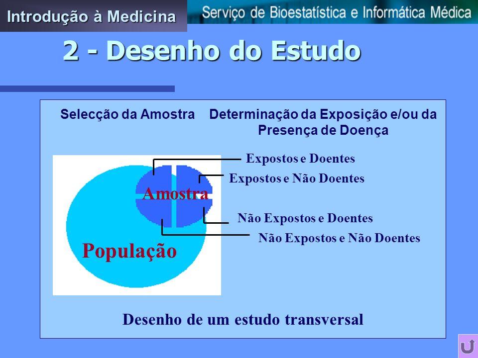 Determinação da Exposição e/ou da Presença de Doença