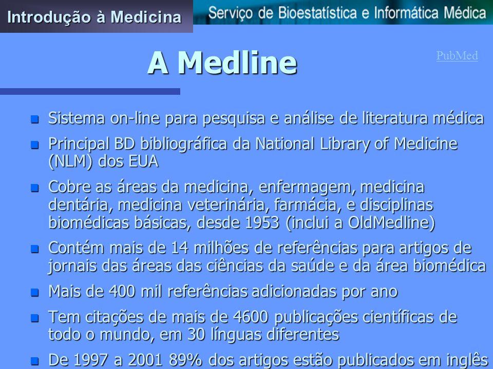 A Medline Introdução à Medicina