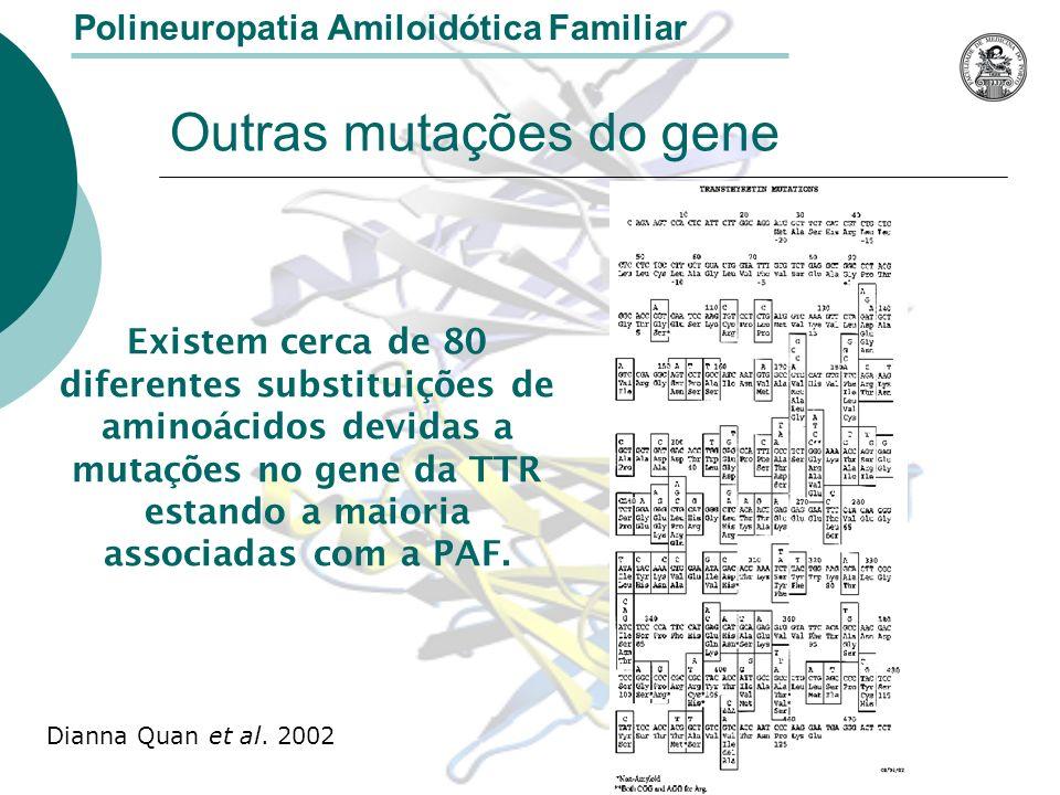 Outras mutações do gene