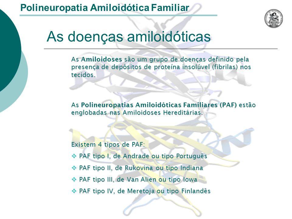As doenças amiloidóticas