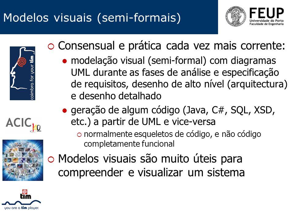 Modelos visuais (semi-formais)