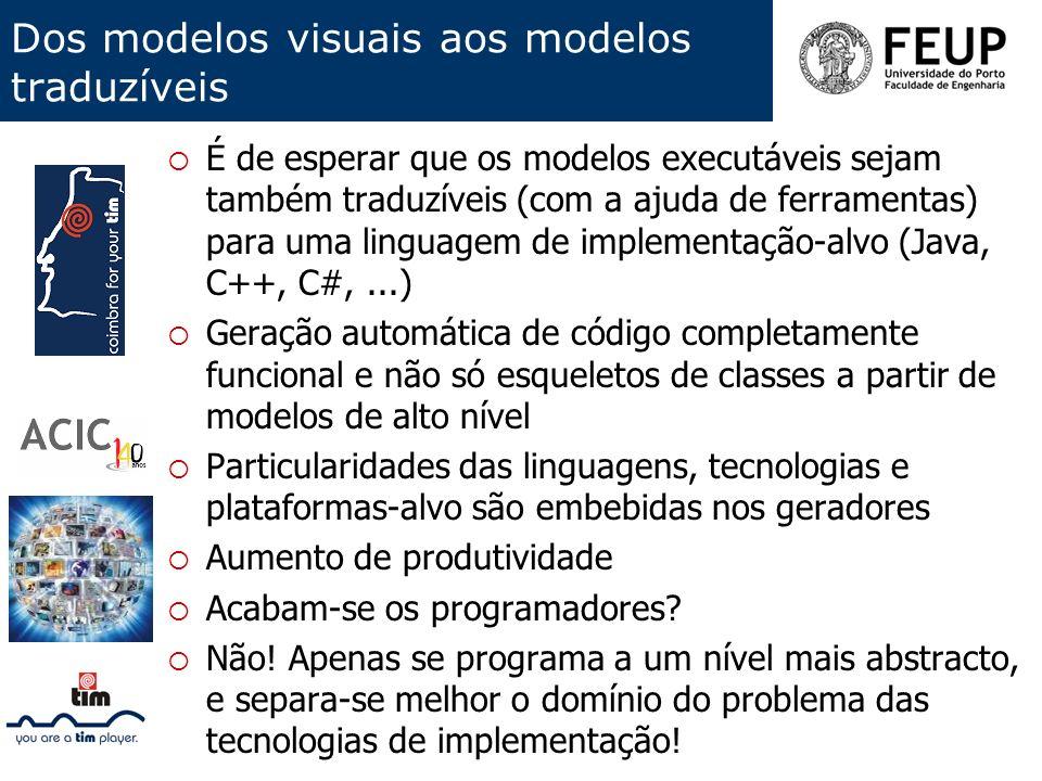 Dos modelos visuais aos modelos traduzíveis