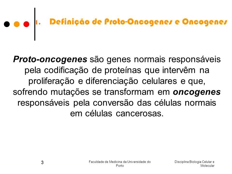 Definição de Proto-Oncogenes e Oncogenes