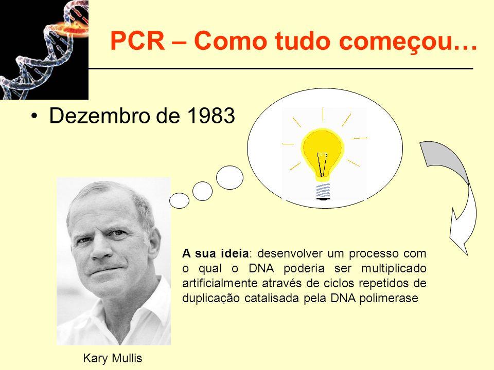 PCR – Como tudo começou…