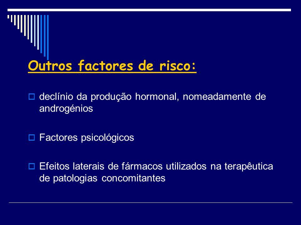 Outros factores de risco: