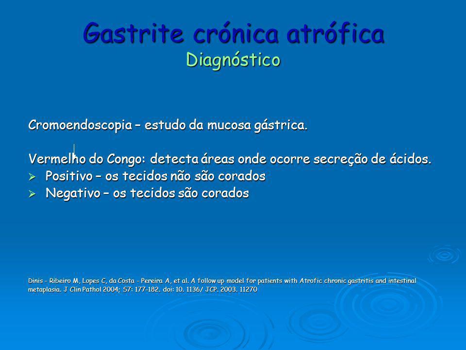 Gastrite crónica atrófica Diagnóstico