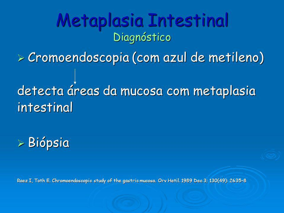 Metaplasia Intestinal Diagnóstico