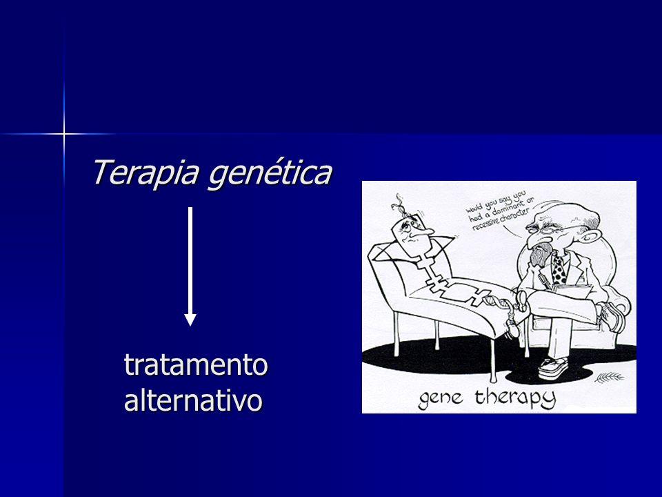 Terapia genética tratamento alternativo