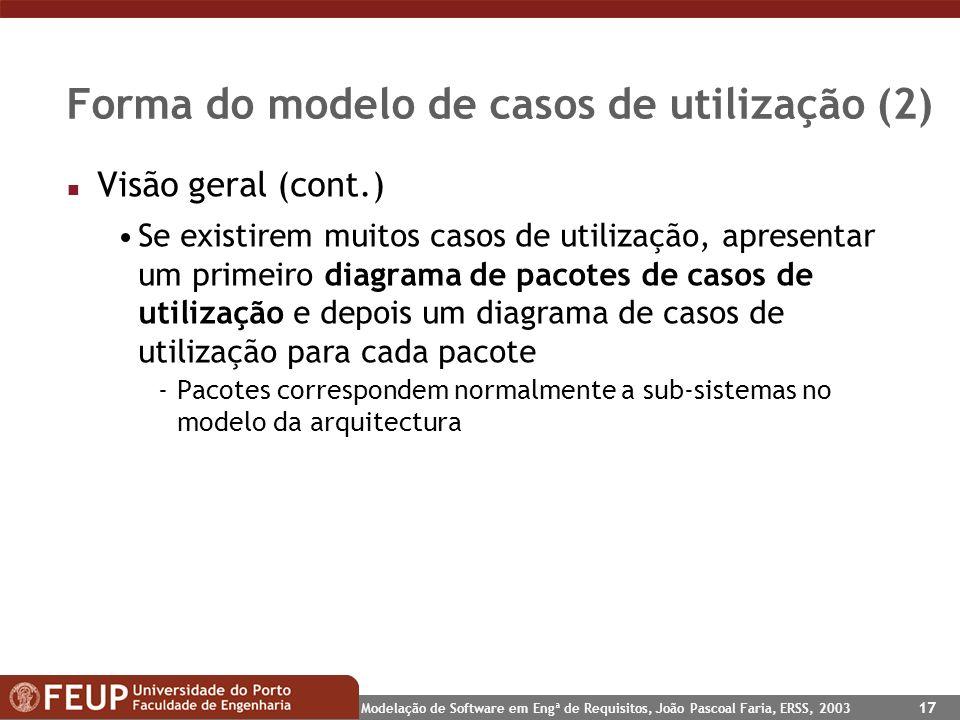 Forma do modelo de casos de utilização (2)