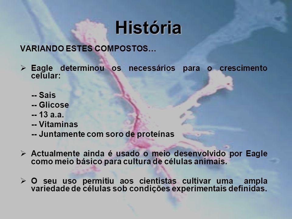 História VARIANDO ESTES COMPOSTOS…