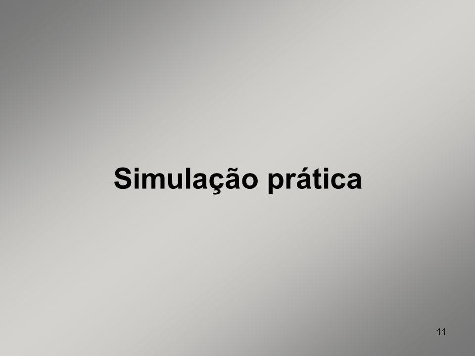 Simulação prática