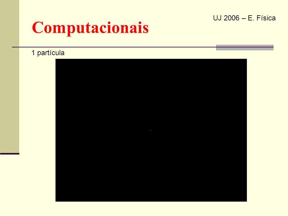Computacionais UJ 2006 – E. Física 1 partícula
