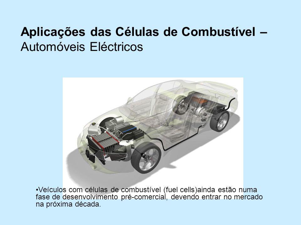 Aplicações das Células de Combustível – Automóveis Eléctricos