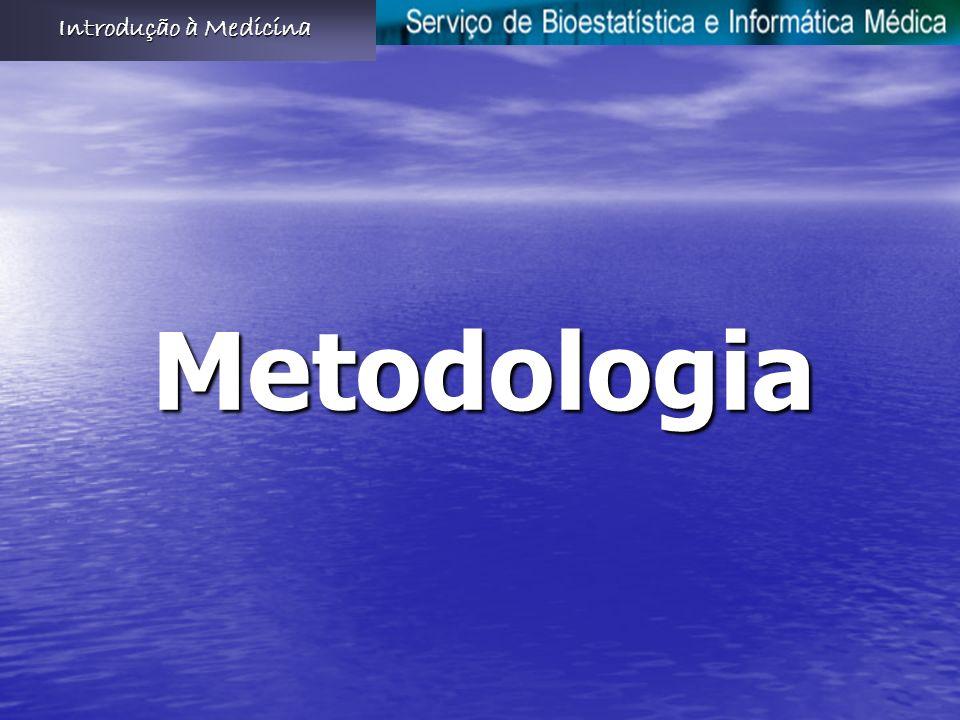 Introdução à Medicina Metodologia