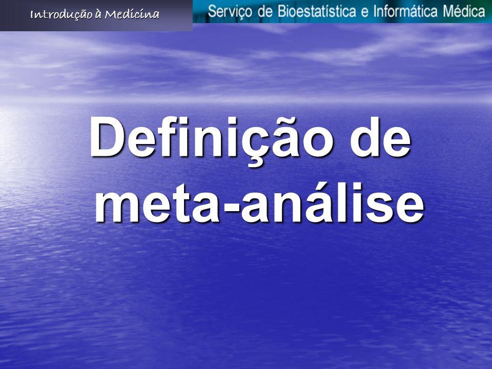 Definição de meta-análise