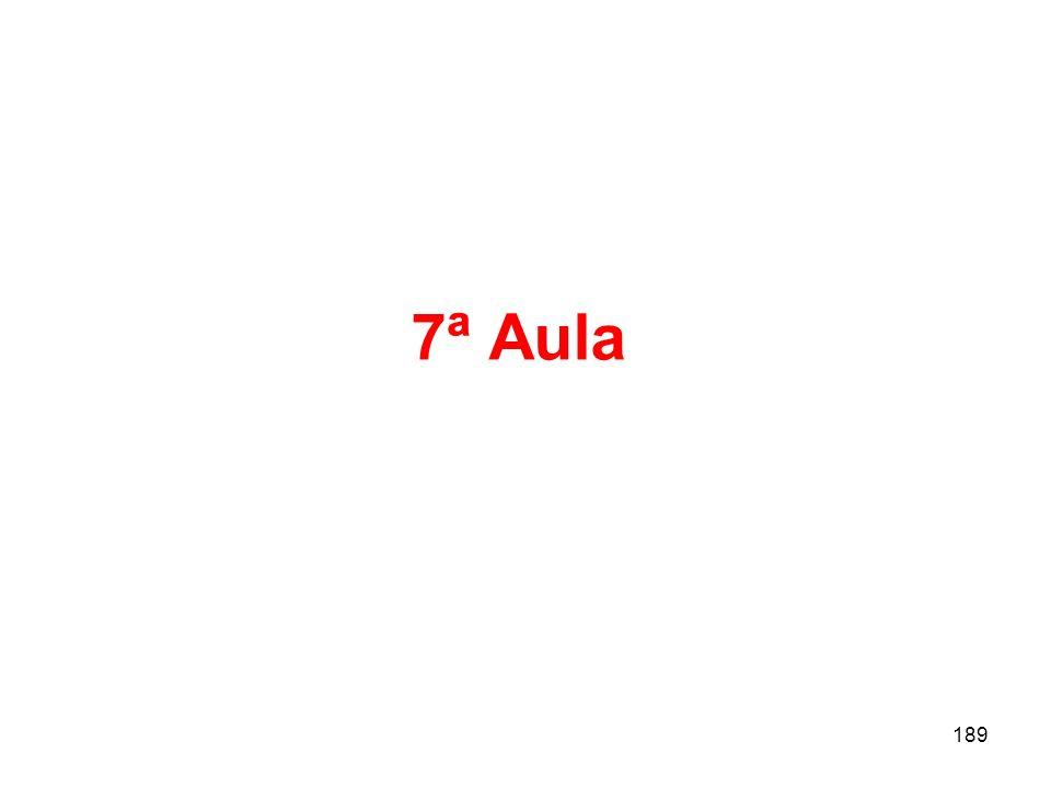 7ª Aula