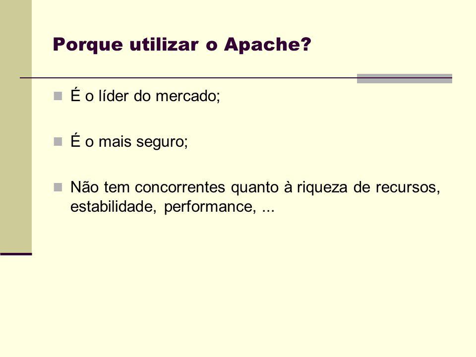 Porque utilizar o Apache