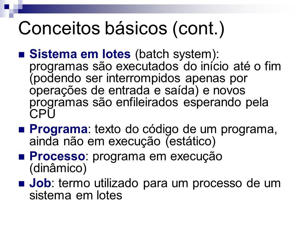 Conceitos básicos (cont.)