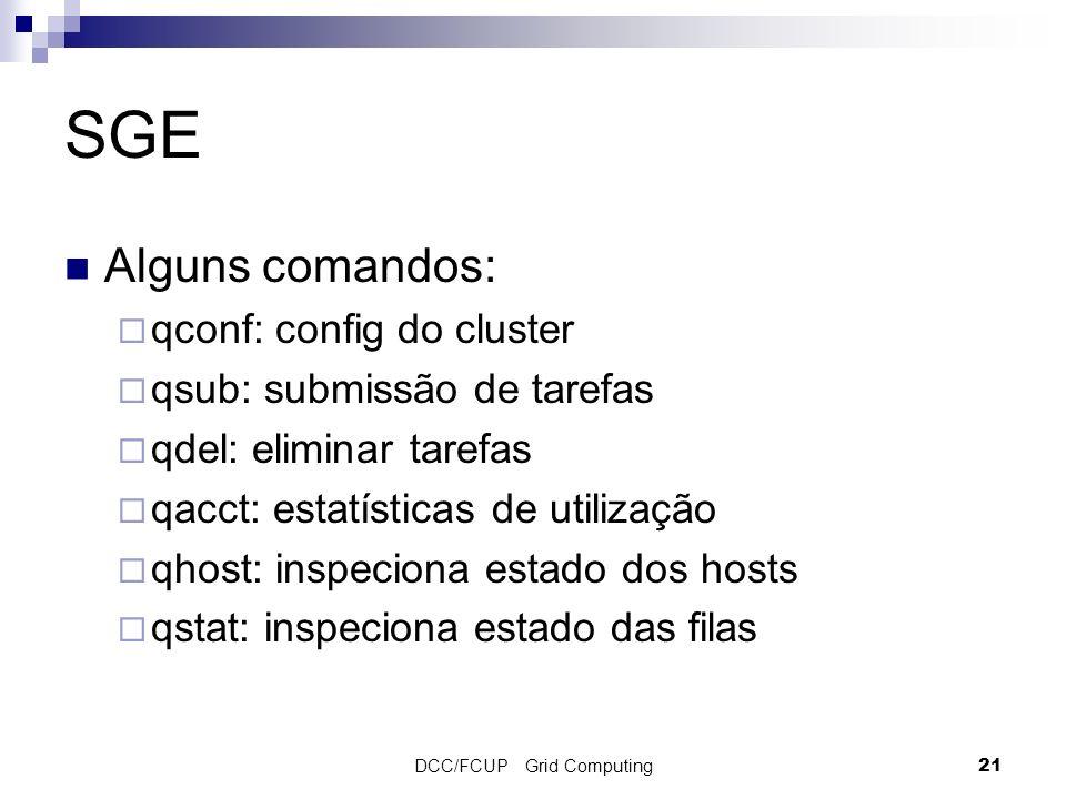 DCC/FCUP Grid Computing