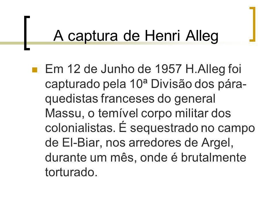 A captura de Henri Alleg