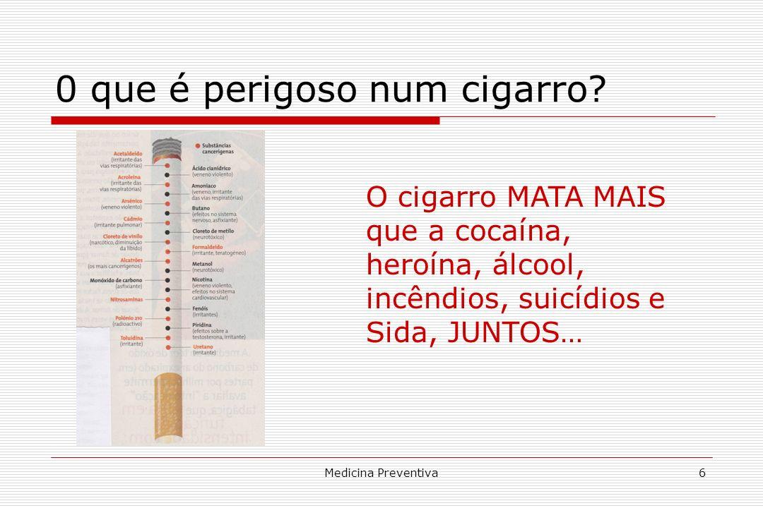 0 que é perigoso num cigarro