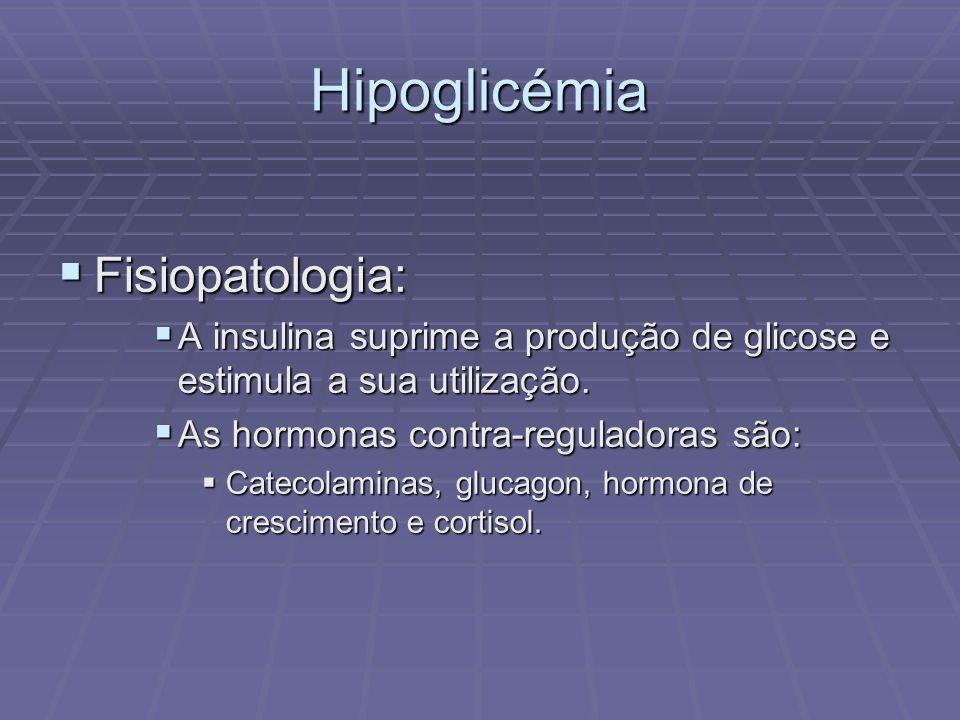 Hipoglicémia Fisiopatologia: