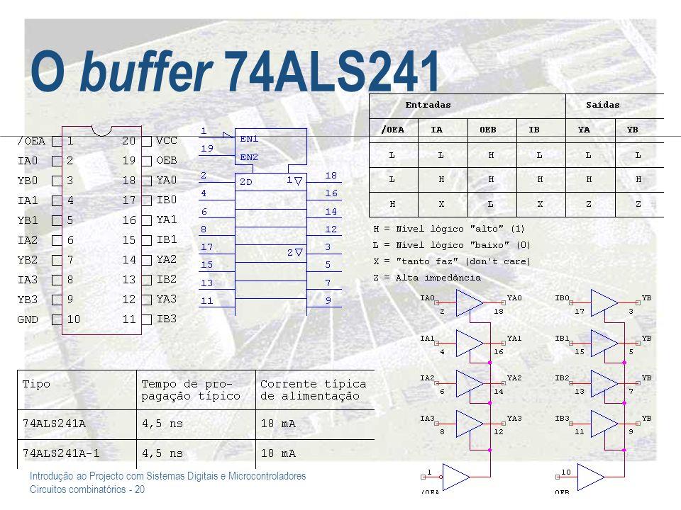 O buffer 74ALS241