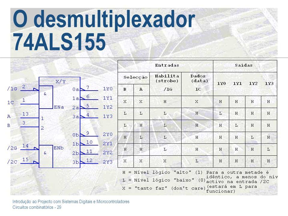 O desmultiplexador 74ALS155